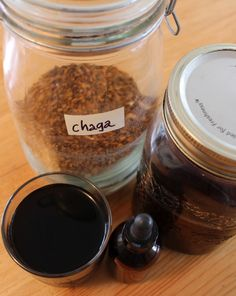 Chaga Mushroom Tincture - Making your own dual extraction