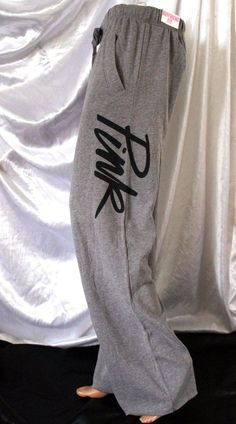 "Victoria Secret PINK Sweatpants Small S Heather Gray Baggy Boyfriend Fit Script <a class=""pintag searchlink"" data-query=""%23VictoriasSecret"" data-type=""hashtag"" href=""/search/?q=%23VictoriasSecret&rs=hashtag"" rel=""nofollow"" title=""#VictoriasSecret search Pinterest"">#VictoriasSecret</a> <a class=""pintag searchlink"" data-query=""%23TrackSweatPants"" data-type=""hashtag"" href=""/search/?q=%23TrackSweatPants&rs=hashtag"" rel=""nofollow"" title=""#TrackSweatPants search Pinterest"">#TrackSweatPants</a>"