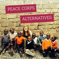 Can& commit to 2 years in the Peace Corps? We can help! Volunteer Work, Volunteer Abroad, Volunteer Gifts, Volunteer Appreciation, Change The World, In This World, Peace Corps, Work Abroad, Gap Year