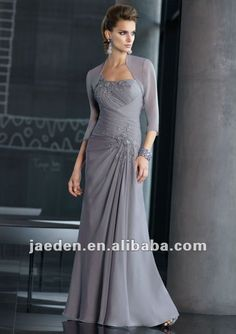 JM0010 Lace One-shoulder Vintage Mother Of The Bride Dresses