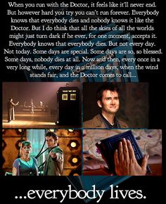 One of my absolute fave doctor quotes