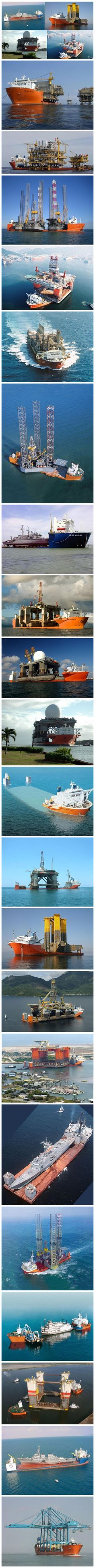 Blue Marlin & Dockwise, THE Ultimate heavy lift submersible ships of the open seas and the world....... ⚓️   ⚠️  ✨