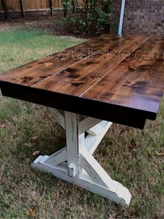 Farmhouse Table The Rustic Acre College Station, TX Custom Built Furniture Farmhouse Furniture, Rustic Furniture, Home Furniture, Furniture Stores, Furniture Projects, Contemporary Furniture, Antique Furniture, Turkish Furniture, Furniture Buyers