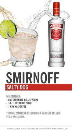 Smirnoff Salty Dog