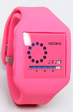 The Zub Zirc Watch in Pink  NOOKA