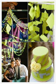 Ideas para Decoracion en neón: Mucho color y diversión de la mano de estos modernos colores! #weddings #fluo
