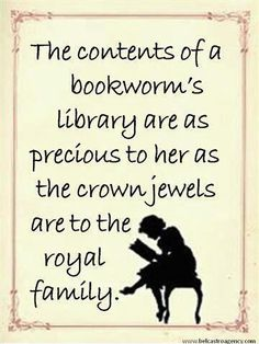 Books are treasures!