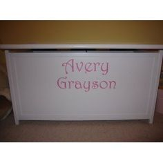 Custom first and middle name 3inch tall letters by Wheeler3Designs, http://www.amazon.com/dp/B004IJKSD8/ref=cm_sw_r_pi_dp_N3Ewrb11R982M