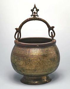 Эрмитаж Санкт-Петербург - котелок. Shangri La, Second World, Ancient Art, Brush Strokes, Islamic Art, Brass, Copper, Metal Working, Bronze