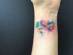 tatuaje símbolo de infinito