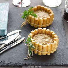 Receta de paté de centollo fácil, con una presentación que va a sorprender a vuestros invitados.