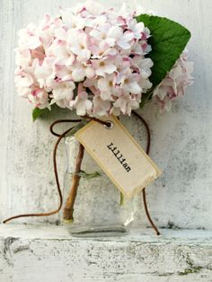 Unique Wedding Favour, or howsabout a little posy for your flower girls?