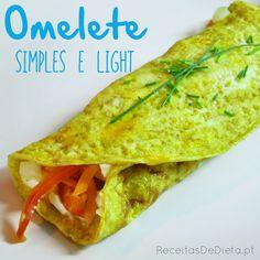 Omelete Simples e Light
