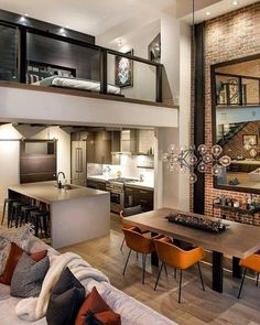 Right Contemporary Living Room Furniture – Loft İdeas 2020 Loft Interior Design, Loft Design, Design Case, Design Hotel, Duplex Design, Attic Design, Interior Colors, Contemporary Living Room Furniture, Home Furniture