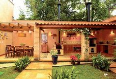 Pergola Ideas For Patio Code: 3312247721 Pergola Attached To House, Pergola With Roof, Backyard Pergola, Pergola Carport, Gazebo, Wedding Pergola, Steel Pergola, Corner Pergola, Wedding Table