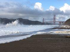 Baker Beach San Francisco by @CathyAlbaPhotos #sanfrancisco #sf #bayarea #alwayssf #goldengatebridge #goldengate #alcatraz #california