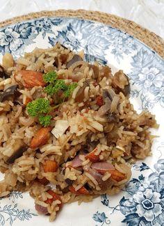 Pasta, Grains, Vegan, Genre, Ethnic Recipes, Fondant, Food, Almonds, Rice