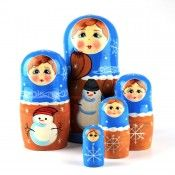 Russian Nesting Dolls, Imported Matryoshka Dolls