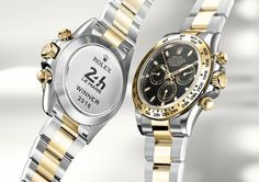 #Horology - #Rolex only when you win at #LeMans24 engraved #RolexDaytona - #16523 - June 2016 ---