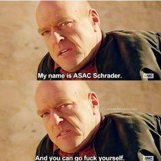 Hank schrader's last moments