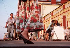 Gueorgui Pinkhassov. RUSSIA. Moscow. 1996. In front of  Kazan Station.