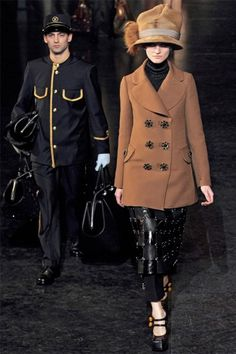 Louis Vuitton.. love this and the bags he is carrying!