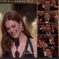 Congrats Leo!  #Oscars