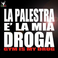 GYM IS MY DRUG   http://blog.netintegratori.it/