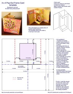 4 X 4 Pop-Out Frame Card Photo: This Photo was uploaded by d0npen. Find other 4 X 4 Pop-Out Frame Card pictures and photos or upload your own with Photo...