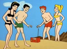 the archies | The Archies - Veronica, Reggie, Archie & Betty