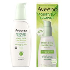 Aveeno Daily Moisturizer, Oil Control Moisturizer, Anti Aging Moisturizer, Moisturizer With Spf, La Mer Moisturizing Cream, Aveeno Positively Radiant, Face Lotion, Broad Spectrum Sunscreen, Best Face Products