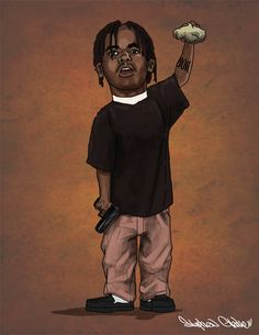by StephenGladue on DeviantArt Dope Cartoons, Dope Cartoon Art, Mode Hip Hop, Trap Art, Estilo Hip Hop, Black Cartoon Characters, Rapper Art, Black Art Pictures, Black Love Art
