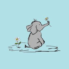 Jeffery Elephant Art Print