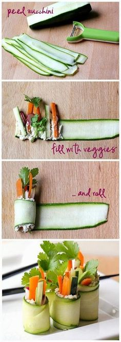 13 Façons de présenter les fruits et légumes sur vos tables, pour célébrer l'arriver du printemps! - Cuisine - Trucs et Bricolages