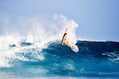 Bruna Schmitz hitting the brakes in Indonesia