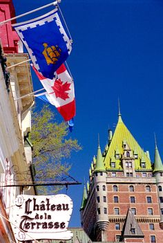 Fairmont Le Chateau Frontenac Hotel in Quebec City Canada