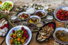 Turkish breakfast / Mardius Hotel,Turkey