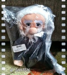 Albert Einstein Cuddle Doll