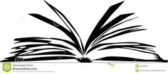 Open Book Clipart Black And White - Cliparts.co