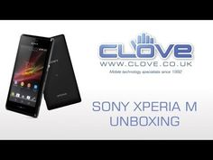 The Sony Xperia M gets unboxed on video.