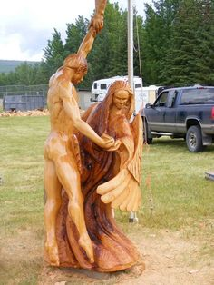 angel chainsaw carvings | IMG] Bob King 2nd