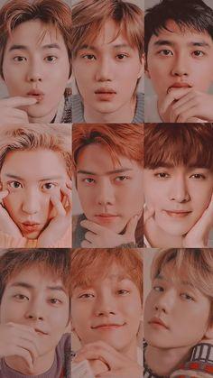 Their visuals 😍😍😍 (and they added Lay 😭😭😭) Baekhyun, Park Chanyeol Exo, Kpop Exo, Exo Wallpaper Hd, Wallpapers Kpop, Exo Songs, Exo Group, Exo Album, Exo Lockscreen