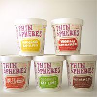 Phin & Phebes ice cream from brooklyn!