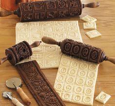 Amasa y da textura a tus postres con esta increíble selección de rodillos para estampar letras, flores,...