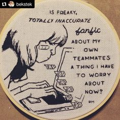 @bekstek is a new discovery for me but she's got a ton of talent in recreating classic comic book art in stitch. Really great stuff - go check her out!  #regram ・・・ #SUPERHEROPROBLEMS amirite (from All-New All-Different Avengers Annual 1 by Willow, Asrar, and Bonvillian) #msmarvel #kamalakhan #comics #embroidery #avengers #fanfiction #fanfic #needlecraft #handembroidery #black #illustration #creativityfound #comicbookart #cool #mrxstitch