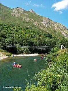 Descenso del Sella en Canoa. Turismo activo Asturias [Más info] http://www.desdeasturias.com/descenso-del-sella-en-canoa/