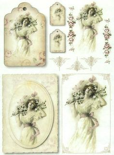 Ricepaper/Decoupage paper,Scrapbooking Sheets/Craft Paper Vintage Lady   eBay