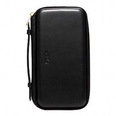 CROSBY DRESS LEATHER MOLDED TRAVEL WALLET   $348.00   style:63722 Coach