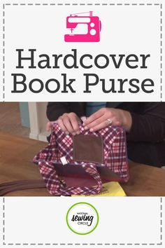 Nicole LaFoille teaches you how to make a purse out of a hardcover book. This project is great for book lovers and lets you carry your favorite books around all day. Start by cutting out all the pages of your book and trace the perimeter to get well on your way.