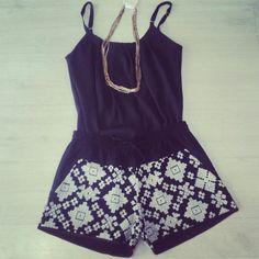Regata + Short Box #moda #verao #look #tendencia